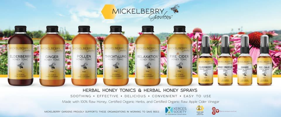 Mickelberry Gardens - Herbal Honey Tonics & Herbal Honey Sprays
